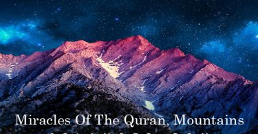 Miracles of the Quran, Mountains