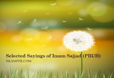 Selected Sayings of Imam Sajjad (PBUH)