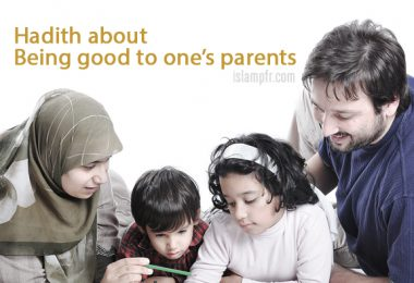 Being good to one's parents