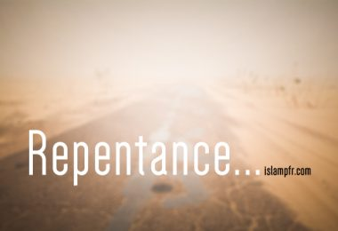 Repentance, the story of a Christian