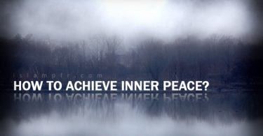 How to achieve inner peace