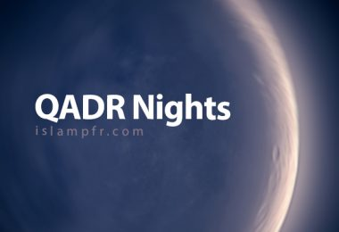 Hadith about Qadr night