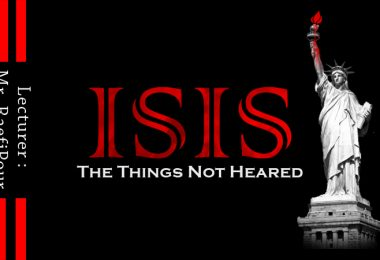 ISIS, The Things Not Heared